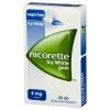 Nicorette Icy White 4 mg gyógyszeres rágógumi, 30 db