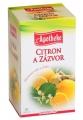 Apotheke gyömbér tea 20 filter