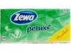 Zewa deluxe papírzsebkendő mentolos 90 db