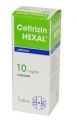 Cetirizin hexal 10 mg/ml belsőleges oldatos cseppek 20 ml