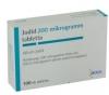Jodid 200 µg tabletta 100 db