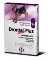 Drontal Plus ízesített tabletta kutyáknak 10 kg testtömeg kezelésére 6 db