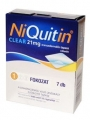 Niquitin clear 21 mg transzdermális tapasz 7 db