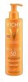 Vichy Idéal Soleil homokálló napvédő tej SPF50⁺ 200 ml