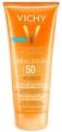 Vichy Idéal Soleil wet ultra felszívódó napvédő <br>tej-gél nedves vagy száraz bőrre SPF50 200 ml