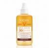 Vichy Idéal soleil ultra könnyű napvédő spray béta-karotinnal SPF 30 200 ml