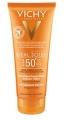 Vichy Idéal Soleil napvédő tej SPF50+ utazó kiszerelés 100 ml