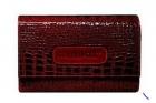 Anabox de luxe 7x1 hét/nap gyógyszeradagoló bőr tokban 1 szett - bordó