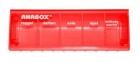 Anabox gyógyszeradagoló napi 1 db - piros