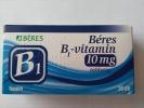 Béres B1-vitamin 10 mg tabletta 30 db