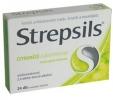 Strepsils citromízű cukormentes szopogató tabletta 24 db