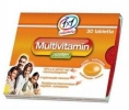 1x1 Vitaday multivitamin + szelén tabletta 30 db