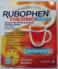 Rubophen Thermo cukormentes citromízű granulátum 12 db