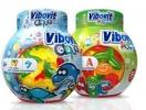 Vibovit aqua gumivitamin étrend-kiegészítő gyermekeknek 50 db