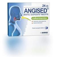 Angised mentol ízű torokfertőtlenítő tabletta 24 db