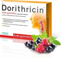 Dorithricin cukormentes, erdei gyümölcs ízű szopogató tabletta 20 db