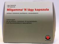Milgamma N lágy kapszula, 100 db