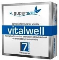 Superwell vitalwell 54 kapszula