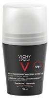 Vichy Homme intenzív izzadságszabályozó golyós dezodor 50 ml