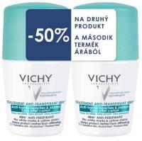 Vichy izzadságszabályozó golyós dezodor 48 órás anti-mark duopack 50 ml + 50 ml